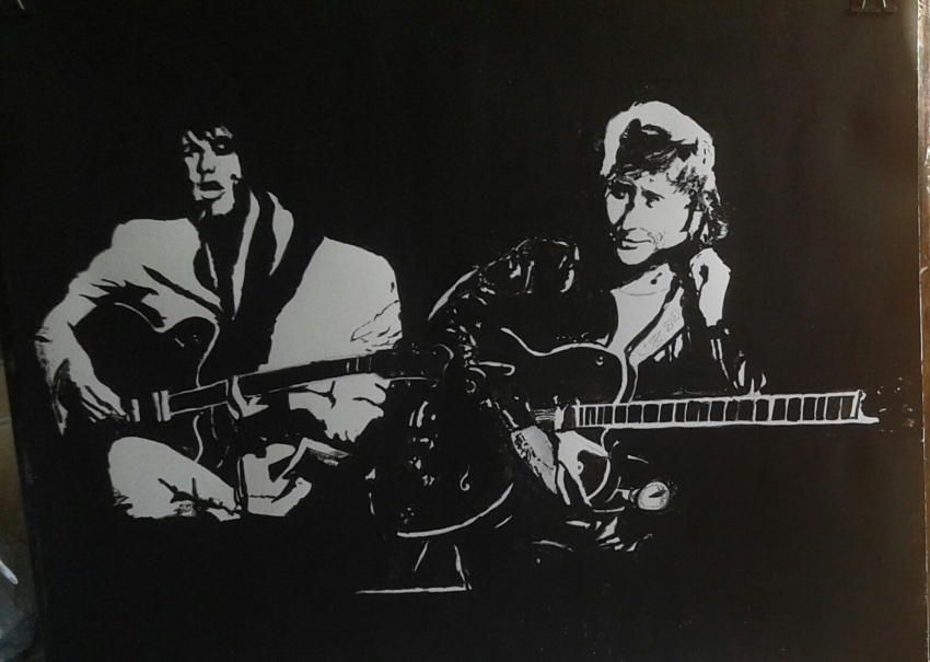 Johnny Hallyday, Elvis Presley by Jean-61